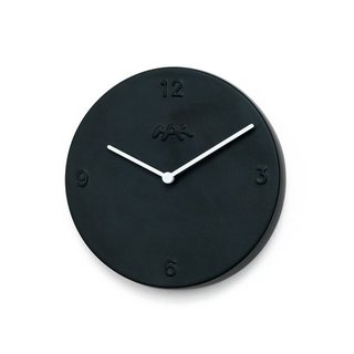 ORA WALL CLOCK  With a clear masculine design sense, this modernized ceramic wall clock by Danish duo Birgette Due Madsen and Jonas Trampedach is perfect for the Dad with sleek and minimalist taste.  price: $175.00
