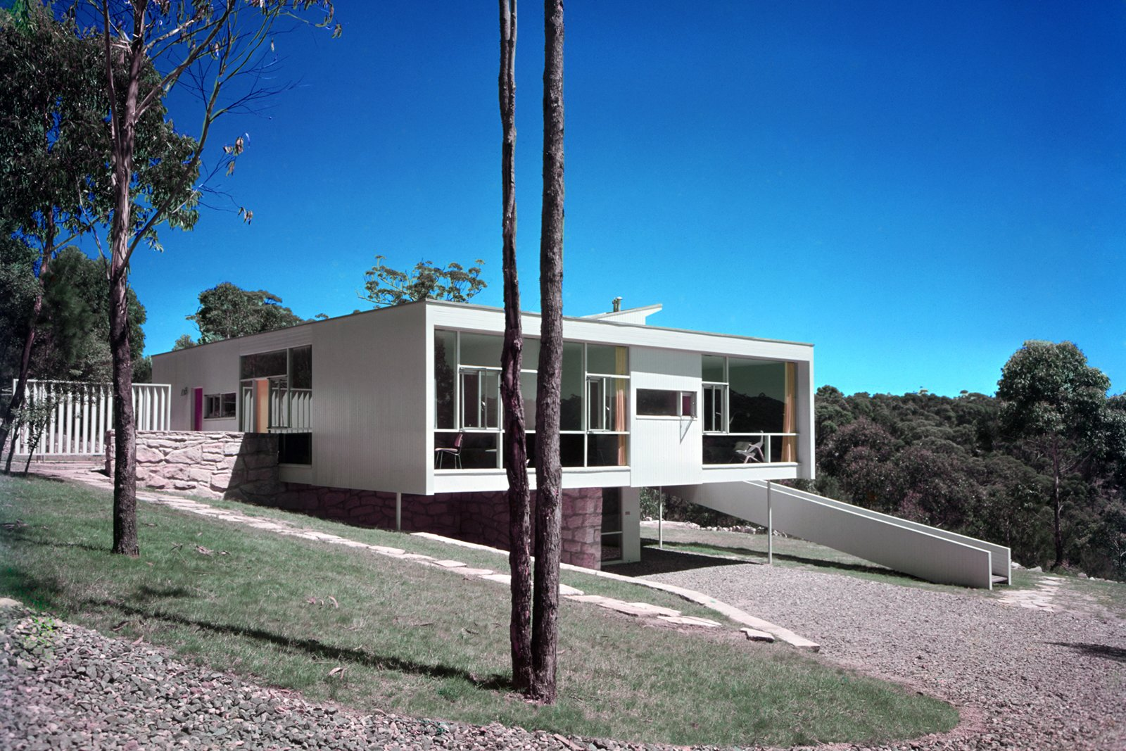Rose Seidler House, Wahroonga, Sydney, Australia, 1948-50. Photo © Marcel Seidler  Photo 6 of 12 in Harry Seidler: Architecture, Art, and Collaborative Design