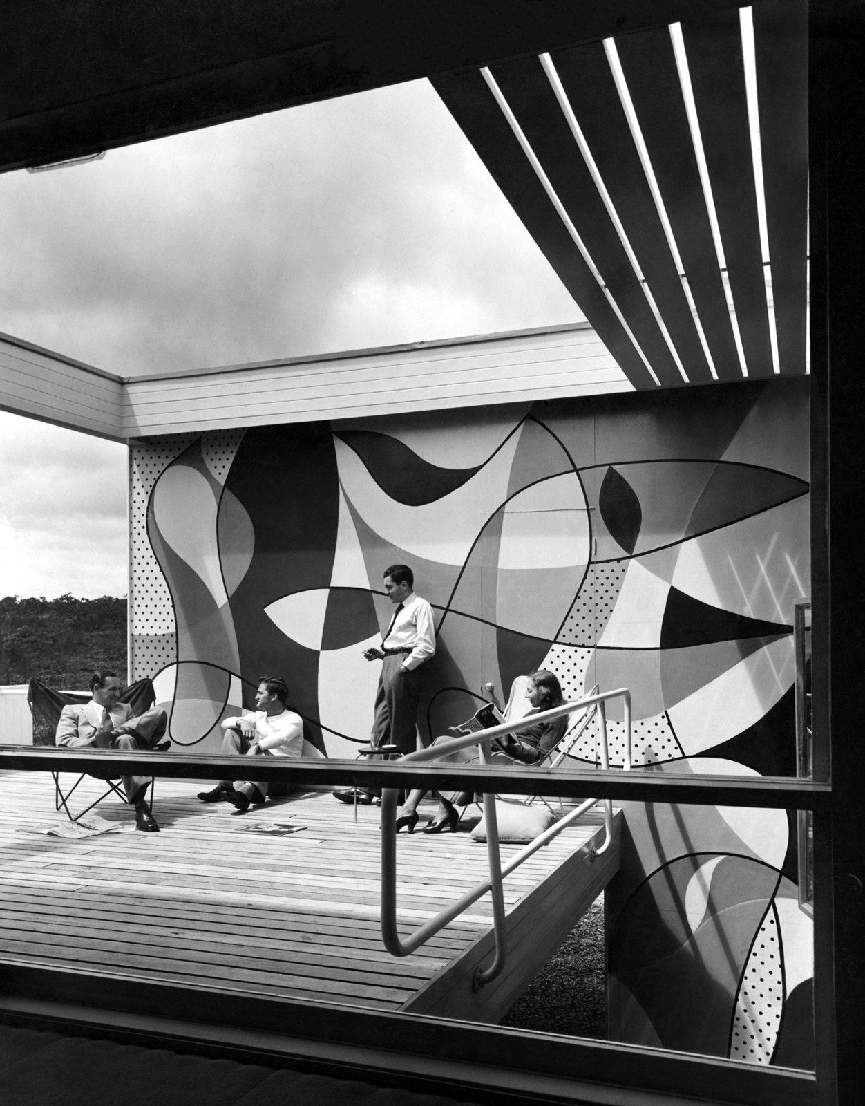 Rose Seidler House, Wahroonga, Sydney, Australia, 1948-50. Photo © Marcel Seidler  Photo 7 of 12 in Harry Seidler: Architecture, Art, and Collaborative Design