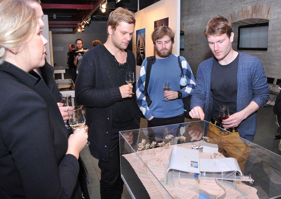 Harry Seidler exhibition at Museum of Estonian Architecture, Tallinn, Estonia. Photo by: Viktor Vesterinen  Photo 10 of 12 in Harry Seidler: Architecture, Art, and Collaborative Design
