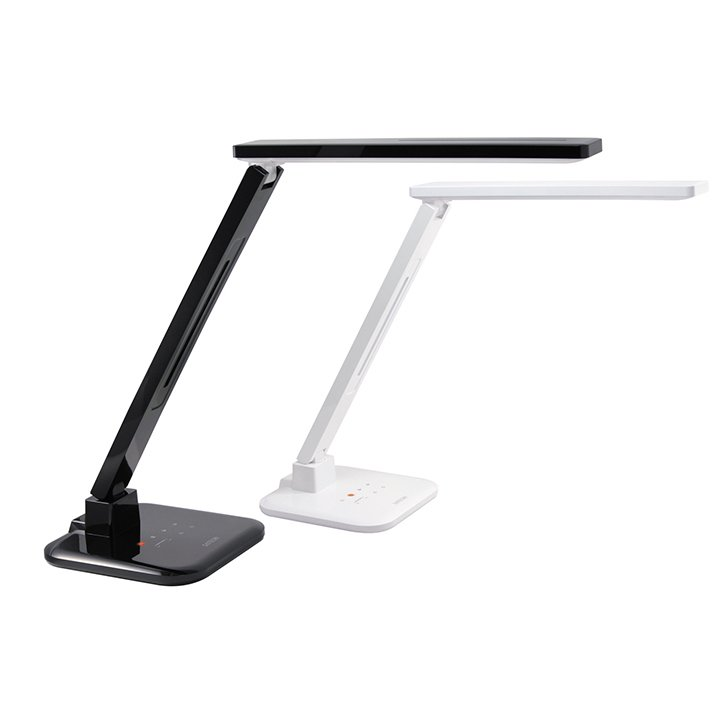 Smart LED Desk Lamp by Satechi, $99  Set this lamp to one of four light settings, depending on your work mode. A bright, full-spectrum shine keeps you awake through all-nighters, and a warm yellow glow prepares you for bed. It comes with a USB port, and the LEDs have a 40,000-hour life expectancy.  Streamline Your Home Office with These Products by Alexander George
