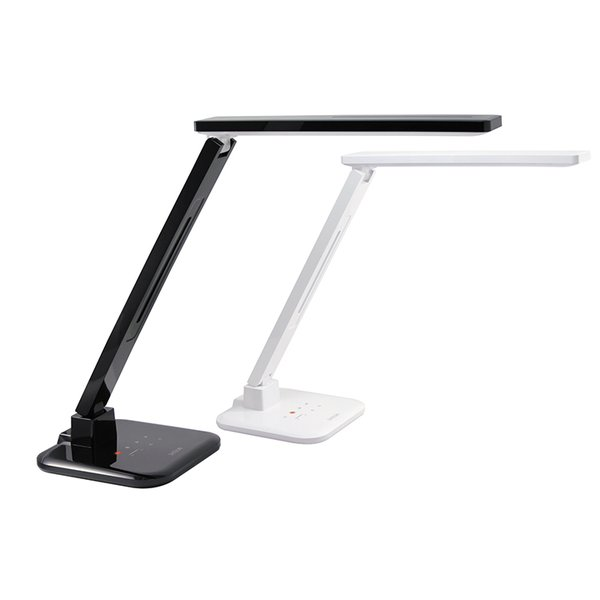 Smart LED Desk Lamp by Satechi, $99  Set this lamp to one of four light settings, depending on your work mode. A bright, full-spectrum shine keeps you awake through all-nighters, and a warm yellow glow prepares you for bed. It comes with a USB port, and the LEDs have a 40,000-hour life expectancy.