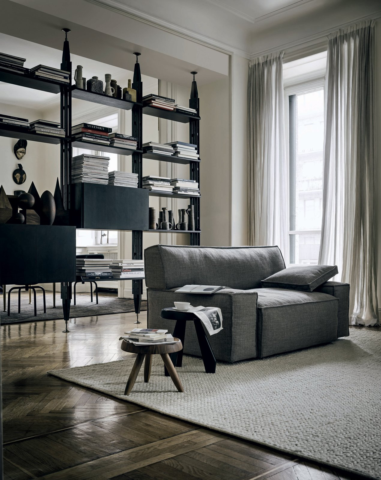 The no-frills-necessary MyWorld armchair. Photo provided by Cassina.  Photo 1 of 4 in MyWorld Lounge System by Philippe Starck