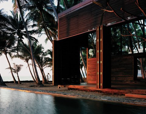 Located an hour outside of the bustling city of Mumbai is an idyllic home designed by Architect Bijoy Jain, principal at Studio Mumbai Architects.