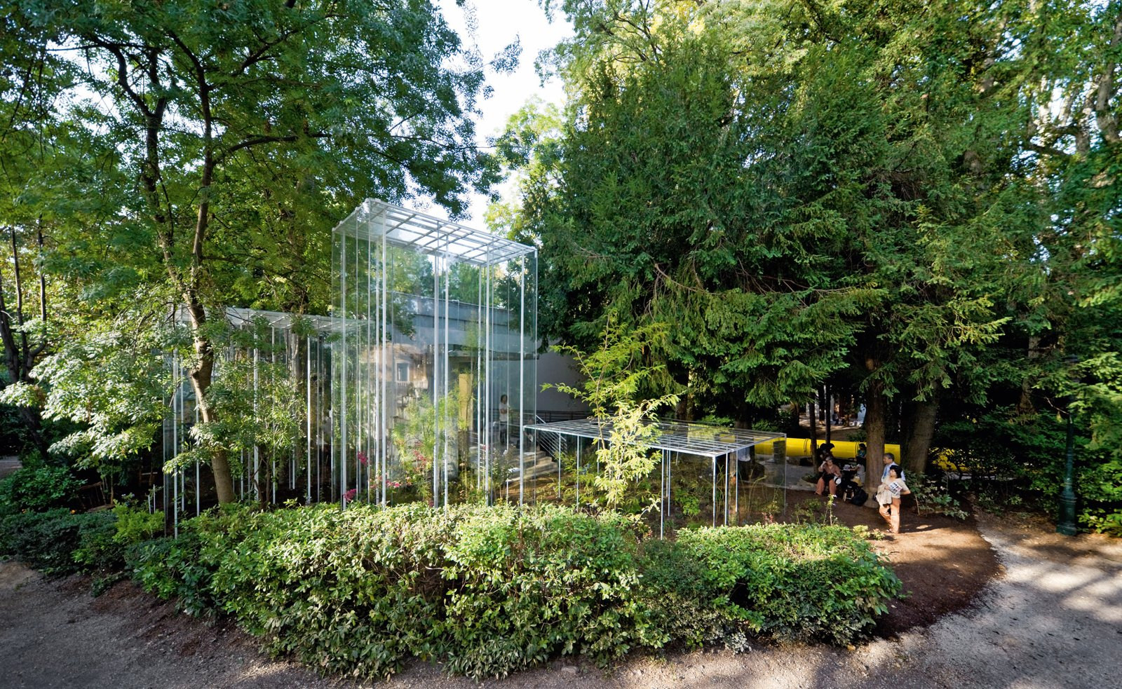 Junya Ishigami's Greenhouses at the Japanese Pavilion of the 2008 Venice Architecture Biennale celebrated architecture and landscape equally. Photo by Iwan Baan  Photo 4 of 8 in 100 Contemporary Green Buildings