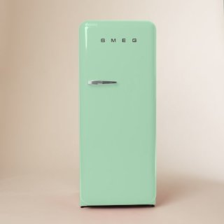 Stick with a classic red, black, or mint green Smeg.