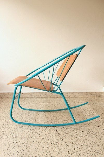 Puerto Rican design collective Design in Puerto Rico brought the color for their WantedDesign debut with the Quince Rocker by Doel Fresse.  Checking In On WantedDesign 2013 by Sara Carpenter