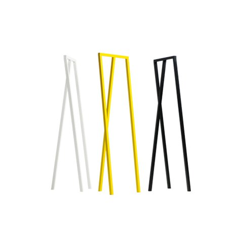 Loop Hall Coat Rack from Hay This powder coated steel trio of color ways designed by Leif Jørgensen can all tuck easily into a foyer for an understated way to keep those puffy jackets in check. $220