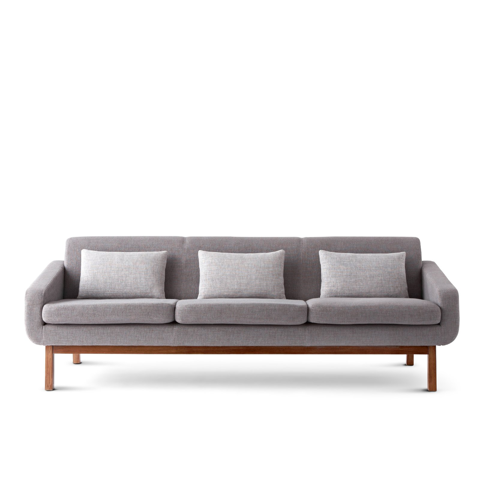 "Happy Chic by Jonathan Adler Bleecker 80"" Sofa  This angular sofa has a sturdy, kiln-dried hardwood frame covered in a deep-gray herringbone fabric.  New Home Collection at JcPenney by Kristen W. Terry"