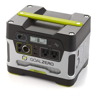Yeti 150 by Goal Zero, $200  With 150 watt-hours of battery, this pack can charge a laptop twice or a smartphone 15 times. The integrated AC port means you can operate household appliances during a blackout. Charge via solar power or by plugging into the grid.