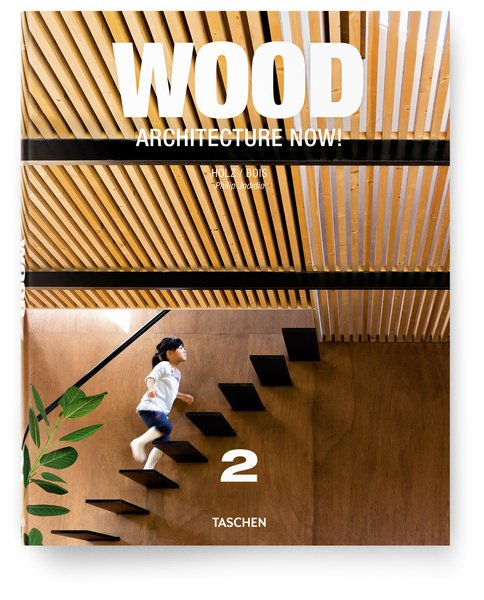 Wood Architecture Now!: Volume 2 will be released August 1st.