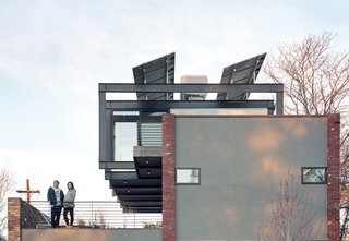 """The Bright Stuff  """"The premise was to build a house that would last 400 years,"""" says the resident of this Denver abode that runs completely on solar power."""