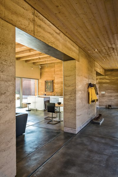 """Marrying the interior with the outdoors informed the design, as did the concept of subtraction: """"If you do it with two, then you can do it with one,"""" Maniatis says, articulating Roger's algebra of minimalism. Photo by: Kirk Gittings"""