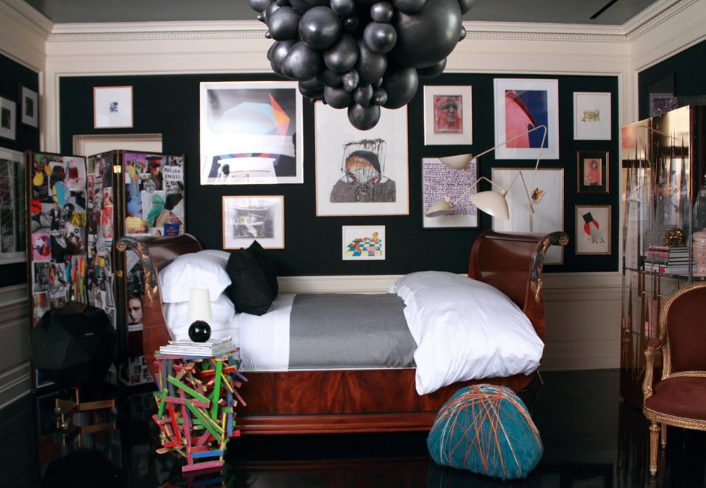 A bedroom by Los Angeles interior designer Oliver M. Furth, who will join us onstage at Dwell on Design to predict future iconic furnishings.  Photo 1 of 1 in Predicting the Future with Oliver M. Furth and Sam Kaufman