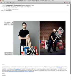 Today's Promo Daily was sent a while back from San Francisco based photographer Gabriela Hasbun.