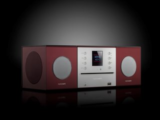 Nanohifi's sleek, modern speakers make their US debut this year, often sharing the clear, crisp notes of Pink Martini with wandering visitors.