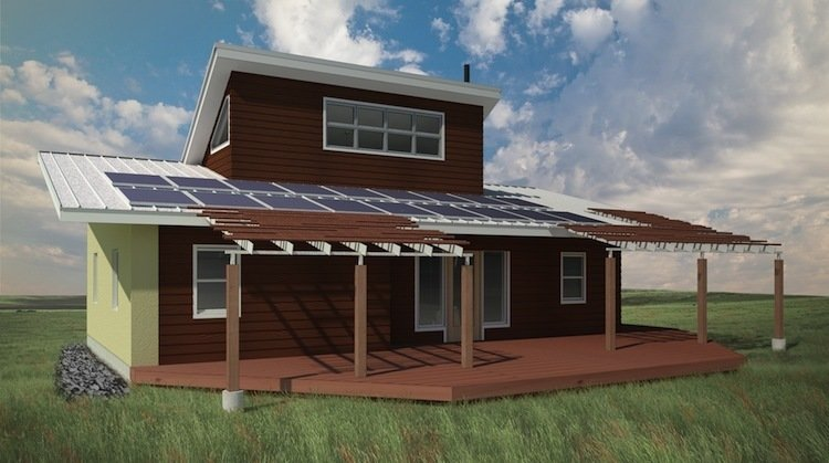 Green Prefab Homes >> Green Prefab Homes For A Native American Reservation Dwell