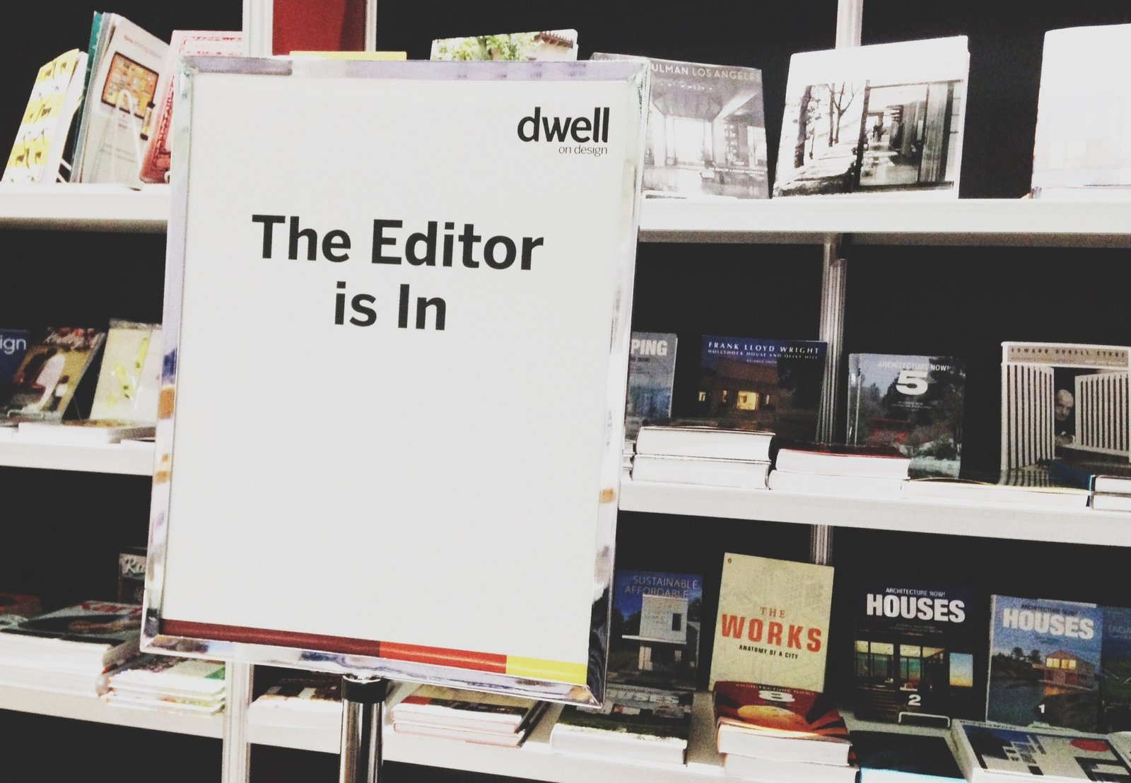 If you want to chat with a Dwell editor in person, stop by the Skylight Books booth at Dwell on Design between 1 and 3 pm on Sunday, June 23!  Photo 1 of 1 in The Editor Is In: 7 Tips for Pitching Stories to Dwell