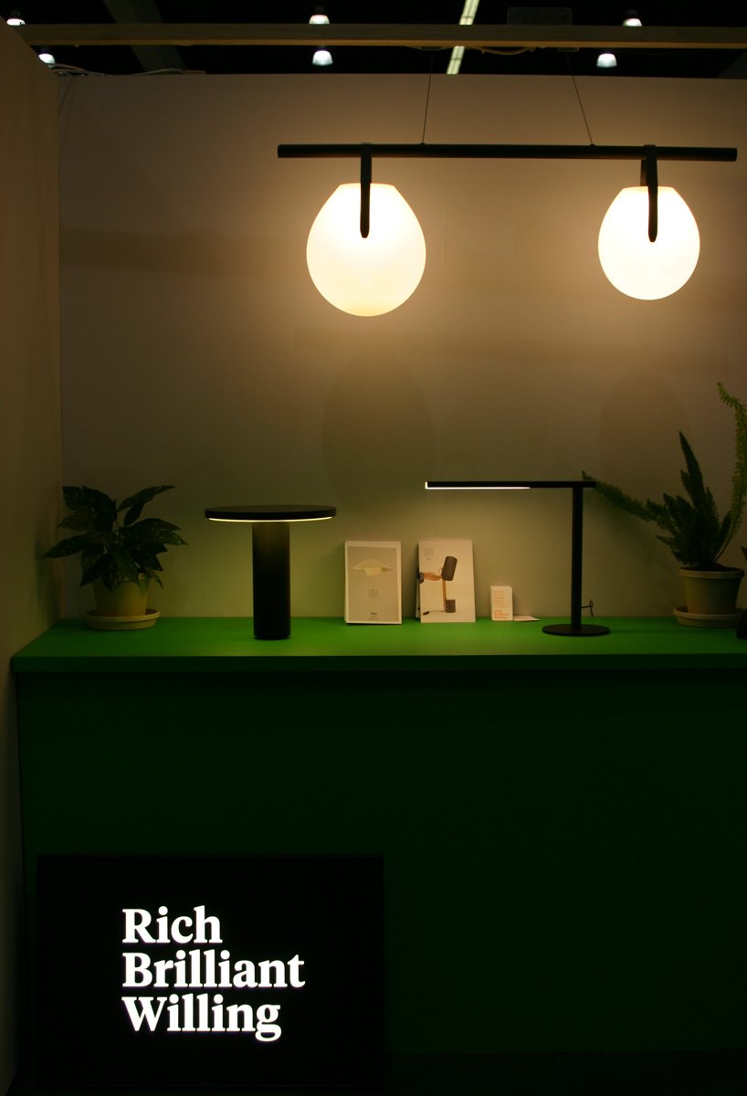 Best lighting: Rich Brilliant Willing. The New York trio made its first appearance at Dwell on Design this year with new pieces including Radient Wall Sconce, Gala chandelier, and Monocle wall light.  Photo 7 of 17 in Dwell on Design Editors' Picks