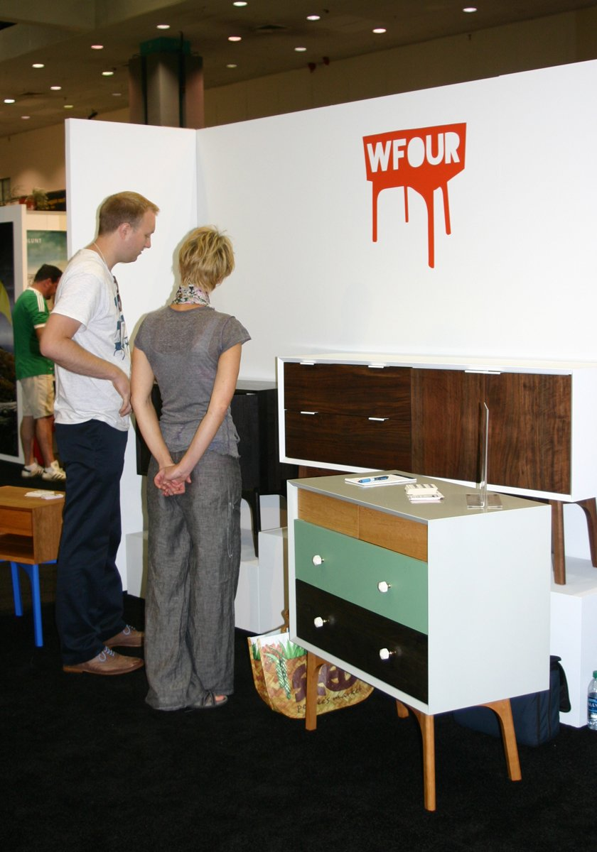 Best customizable design: WFOUR Design, for its new Mix-and-Match dresser with four colors and one cherry stain finish option for drawers.  Photo 12 of 17 in Dwell on Design Editors' Picks