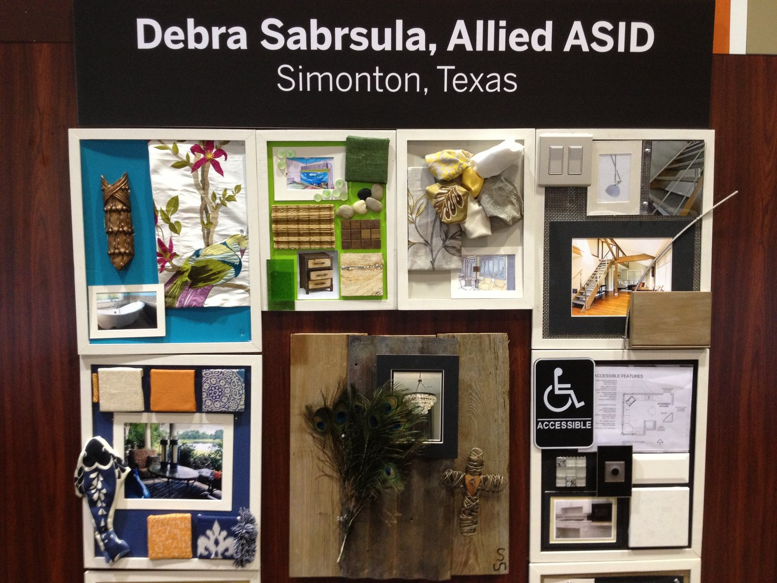 Simonton, Texas–based ASID designer  Debra Sabrsula's board.  Pinboards Come to Life in the Pinterest Pavilion by Erika Heet