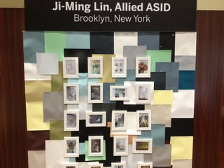 Brooklyn-based Ji-Ming Lin, who downloaded the Pinterest app and created her board with her smart phone in one hand and her new baby in the other, repeated the images from her pinboard.
