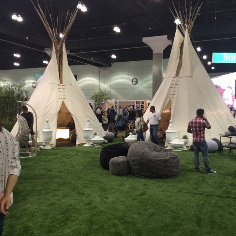 We've got glamping, a beer garden, and more at our largest #dwelloutdoor ever! #DODLA