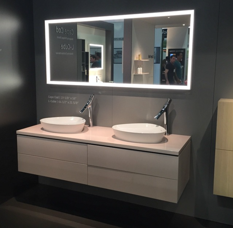 The L-Cube system by Christian Werner for @duravit at #DODLA.