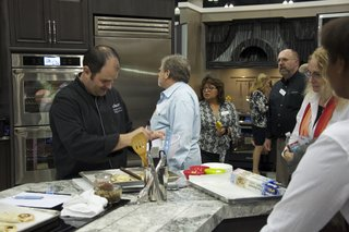 """Dacor is hosting live kitchen demonstrations with Jan Datri. Stop by the booth for a chance to win a new Renaissance 30"""" all gas range."""