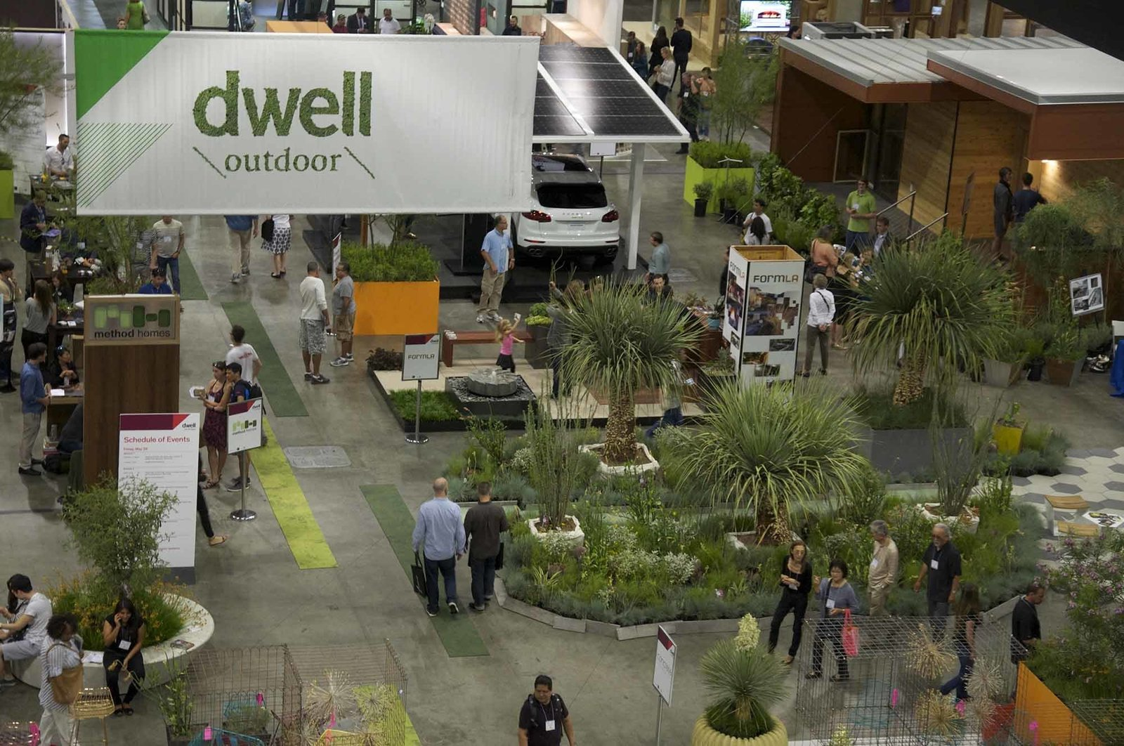 "For the second year in a row, experts in landscape design offered free consultations as part of ""The Landscape Designer Is In"" program.  Take a Stroll Through Dwell Outdoor 2015 by Dwell"