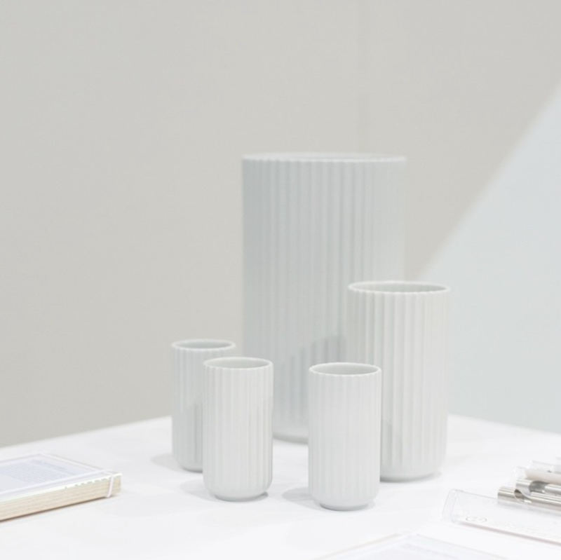@blomst_dtla: Original Lyngby vases by @lyngbyporcelain at the @Dwell_store at the Dwell on Design show in LA.
