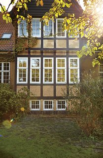 Original windows with weatherstripping, when well-maintained, can often be as energy-efficient as new double-glazed windows.