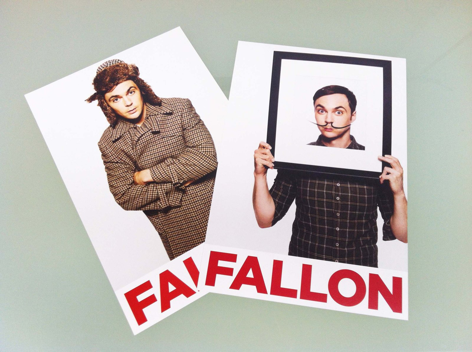 Two terrific FALLON promos of Jim Parsons from The Big Bang Theory.  Aaron Fallon.  Photo 1 of 2 in Promo Daily:  Aaron Fallon