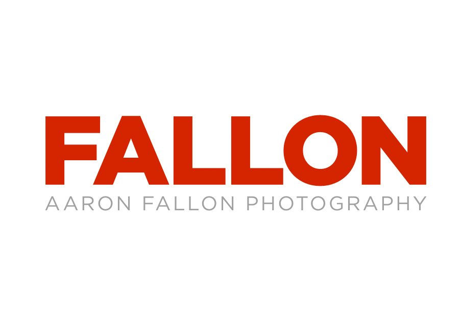 Front page graphic of aaronfallon.com with just the memorable name FALLON.  Photo 2 of 2 in Promo Daily:  Aaron Fallon