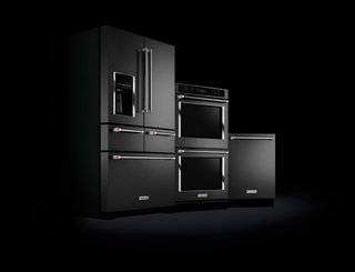 Stainless steel has been the hallmark of the modern American kitchen for years. But today's appliance launches show that stainless is not the only material fit for modern design seekers. KitchenAid's new Black Stainless Steel line is a natural evolution, as it has the same material qualities as stainless steel but features a new, warmer tone.