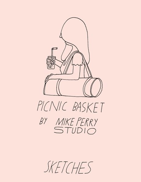 Picnic Basket by Mike Perry Studio.