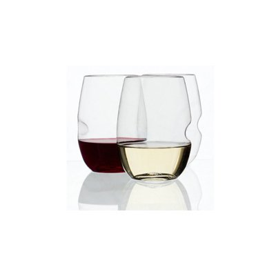 GOVINO SHATTERPROOF WINE GLASSES  It's a crushing feeling to watch your prized crystal hit the ground and shatter. Save your tears with shatter-proof wine glasses. They even have finger indents for better grip!