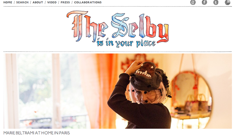 The Selby began in 2008 as a place where photographer Todd Selby could post photo shoots he did of his friends in their homes. Since then, the site has remained true to its origin, offering an inside view into the homes of different creative personalities, all shot by Selby himself. And most recently, The Selby curated home goods for Svbscription. Read all about it here.