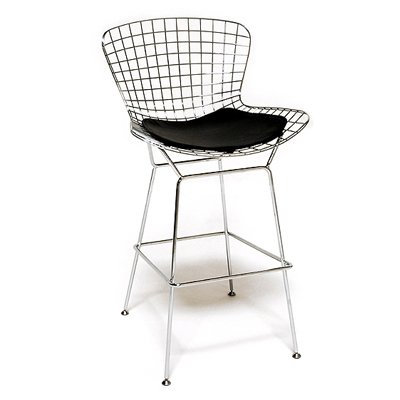You would be hard pressed to find an issue of Dwell without a Bertoia barstool or chair in it. Launched in 1952, the industrial-strength steel seat is a modern classic without drawing too much attention to itself. $747