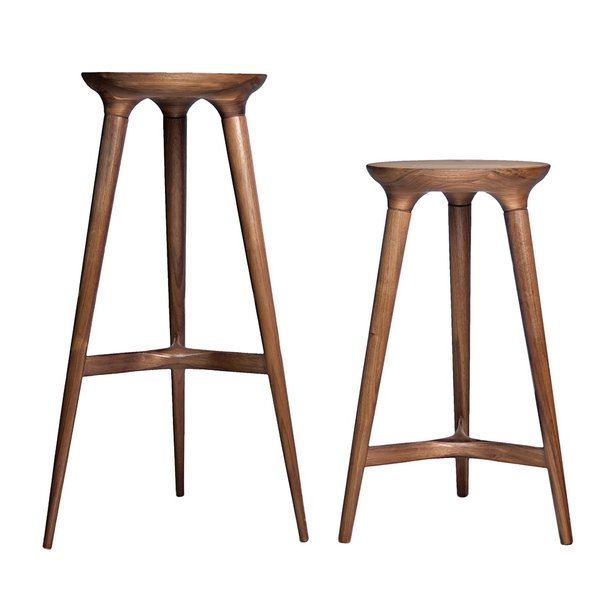 Every Studio Dunn's Kingstown barstool is made from sustainably harvested hardwood sourced from forests in the Midwest and on the East Coast. From $530