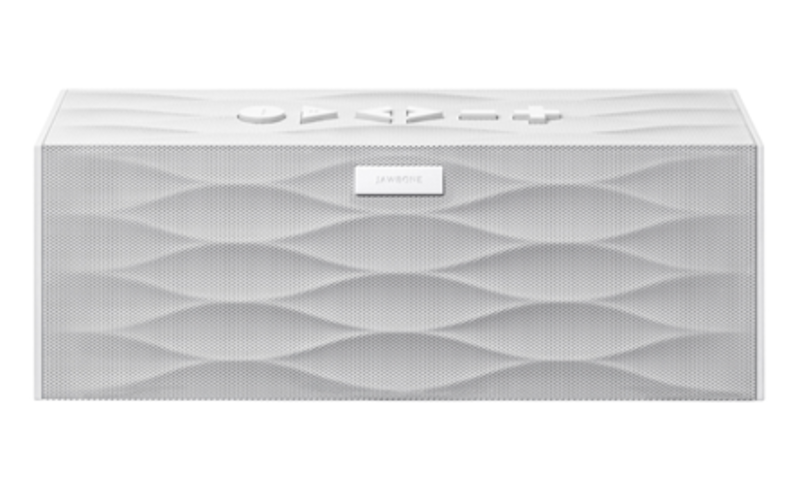 Big Jambox by Jawbone, $299.   With its undulating grille and geometric shape, the Big Jambox, which was launched in 2012 by Jawbone, is perhaps the most recognizable portable Bluetooth speaker on the market.
