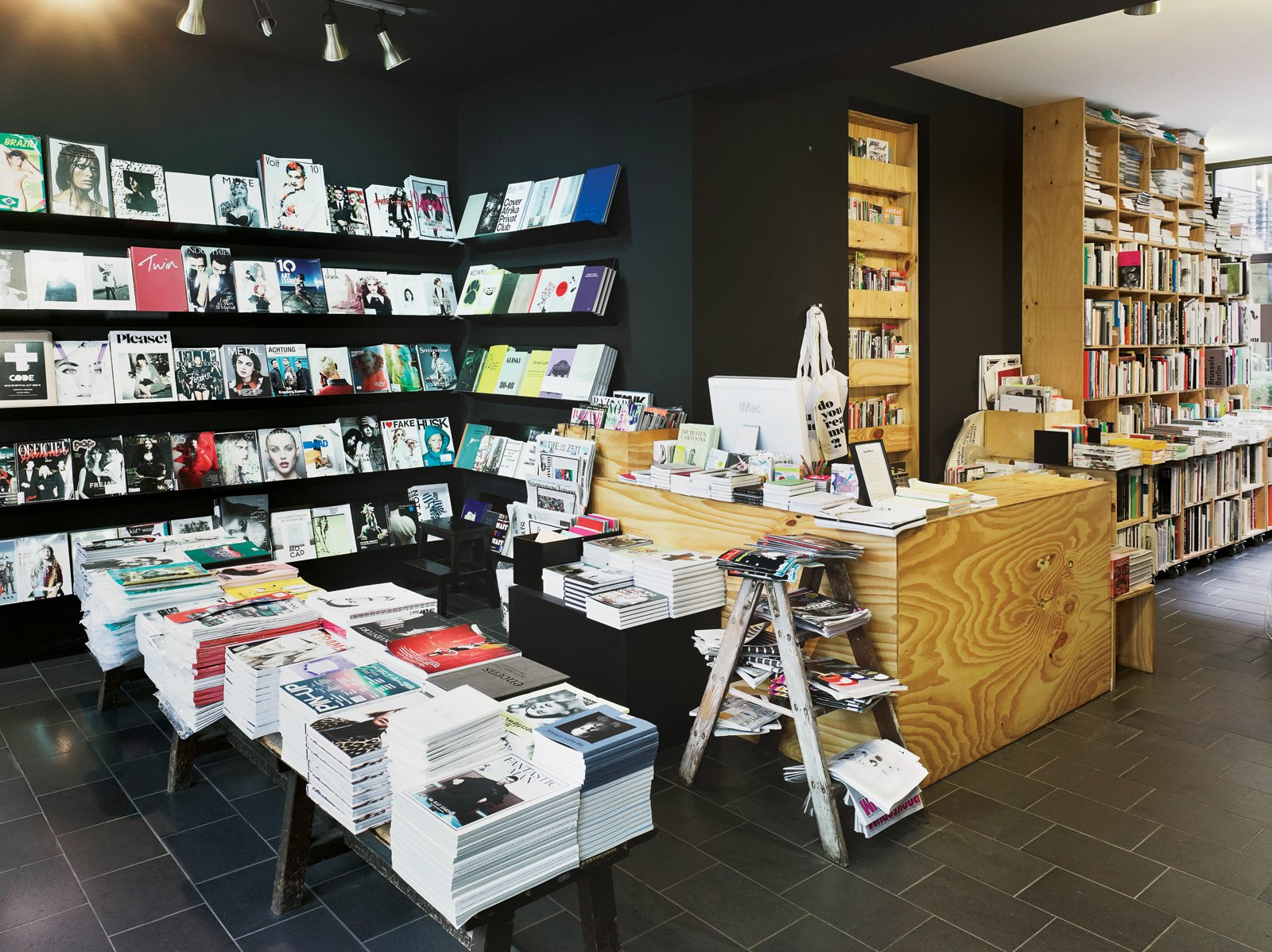 """""""[DoYouReadMe] in Berlin sells the best independent, international, and local magazines. It's run by graphic designers, and you can really feel their love for printed matter."""" —Frederik Frede of freundevonfreunden.com  Blogger Focus: Design Destinations by Jaime Gillin"""