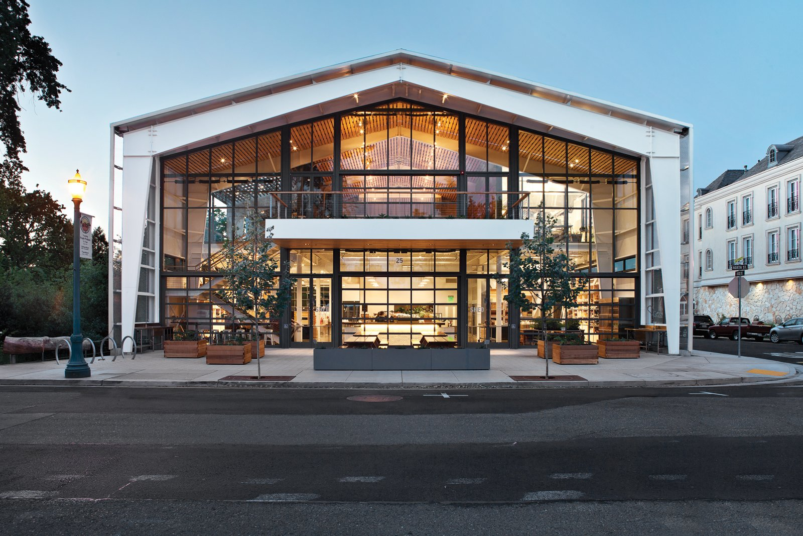"""""""My latest fixation is the Shed in Healdsburg, California. The hybrid retail-restaurant-event space features communal dinners, homesteading classes, a collection of kitchen supplies and gardening tools, and even a fermentation bar."""" —Dave Cuzner of grainedit.com  Blogger Focus: Design Destinations by Jaime Gillin"""