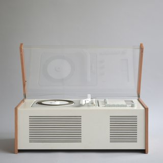 Deiter Rams-designed SK 5 phonosuper, perhaps the most iconic audio design in the Braun archives.