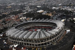 """Estadio Azteca (Mexico City, Mexico: 1970 and 1986 World Cups)  It's easy for this classic stadium to be overshadowed by the incredible football that's taken place on its pitch, from the """"Hand of God"""" goal and 1970's """"Game of the Century"""" between Italy and West Germany to a pair of electrifying World Cup finals. Architects Pedro Ramirez Vasquez and Rafael Mijares studied stadiums overseas for years, eventually creating an iconic venue that, with it's sound trapping overhangs and incredible altitude, has functioned like a 12th man supporting the Mexican national squad, which has rarely lost here."""