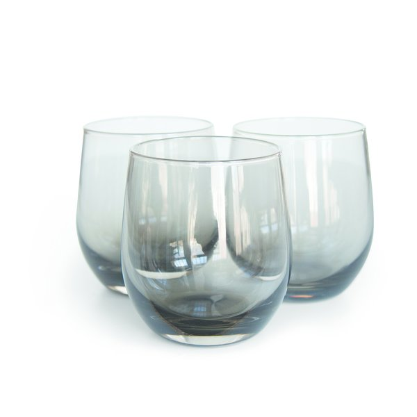 The Gunsmoke tumbler, conceived as a smoky vessel for smokier drinks, represents Fehlō's first forray into glassware.