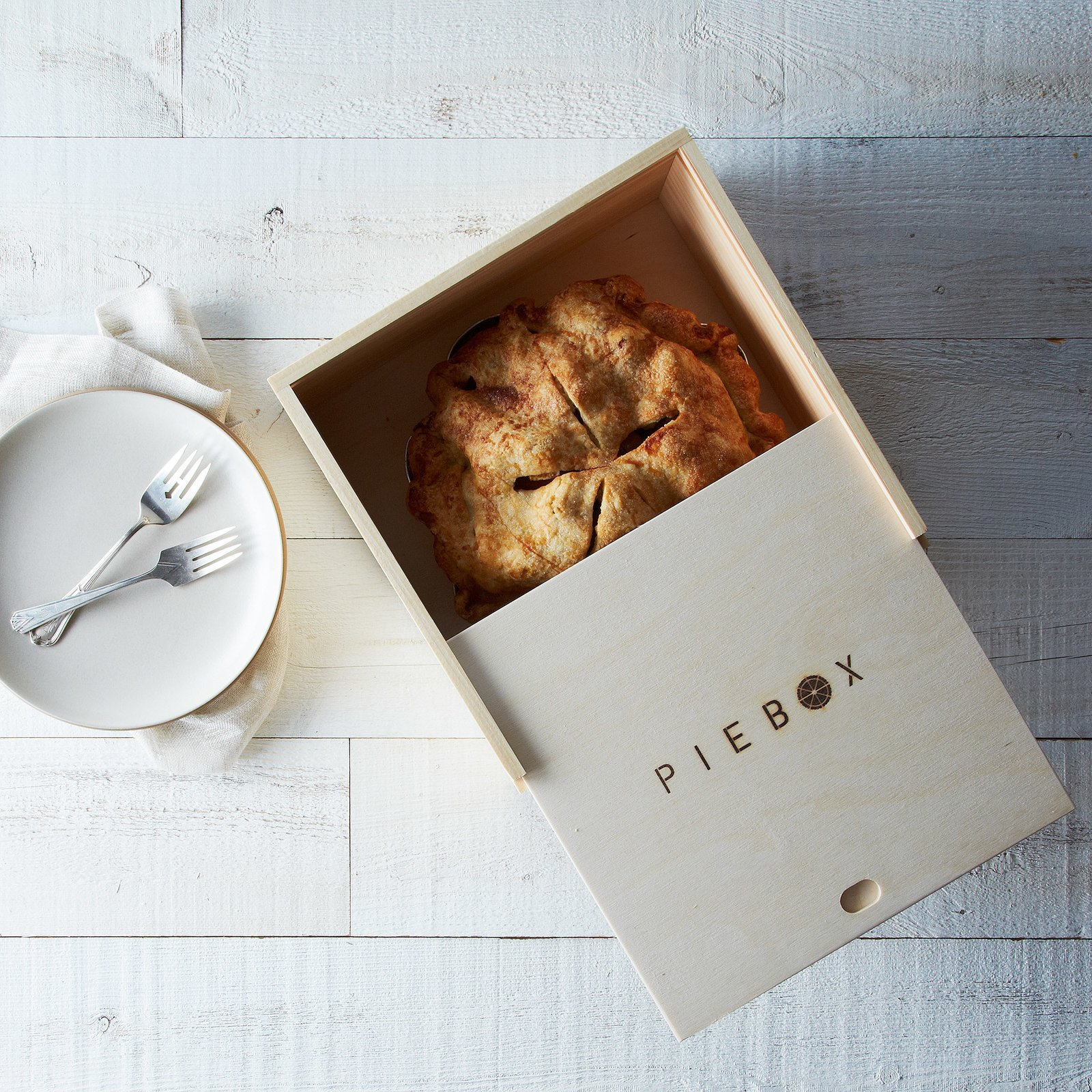 """""""Many cooks focus on getting the pie crust just right, but then forget they have to get the fragile pie to the party or picnic in one piece. This handsome pie box does the trick, in style."""" Pie Box at Provisions, $35.  Photo 7 of 10 in Cooking Expert-Approved Kitchenware from Provisions"""