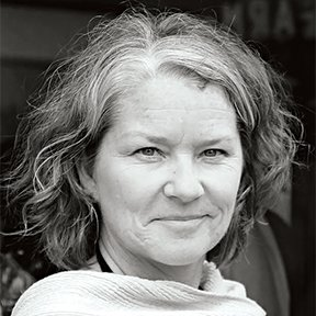"""""""The Chungs' story is about generations and culture, and how the intersections are accommodated, even enhanced, by beautiful, sensitive design,"""" says Georgina Gustin. A longtime food policy and farming writer, Gustin lives in Washington, D.C., and trekked across the Potomac to cover the Chungs' mulitgenerational abode in Virginia. """"The views of the trees in the back, framed through giant windows, connect the house to nature—a kind of backdrop to the story.""""  Favorite public space: """"The Vietnam Memorial is a testament to the power of minimalism—and as moving a place as you'll ever visit.""""  Meet the Faces Behind Our Outdoor Issue by Dwell"""