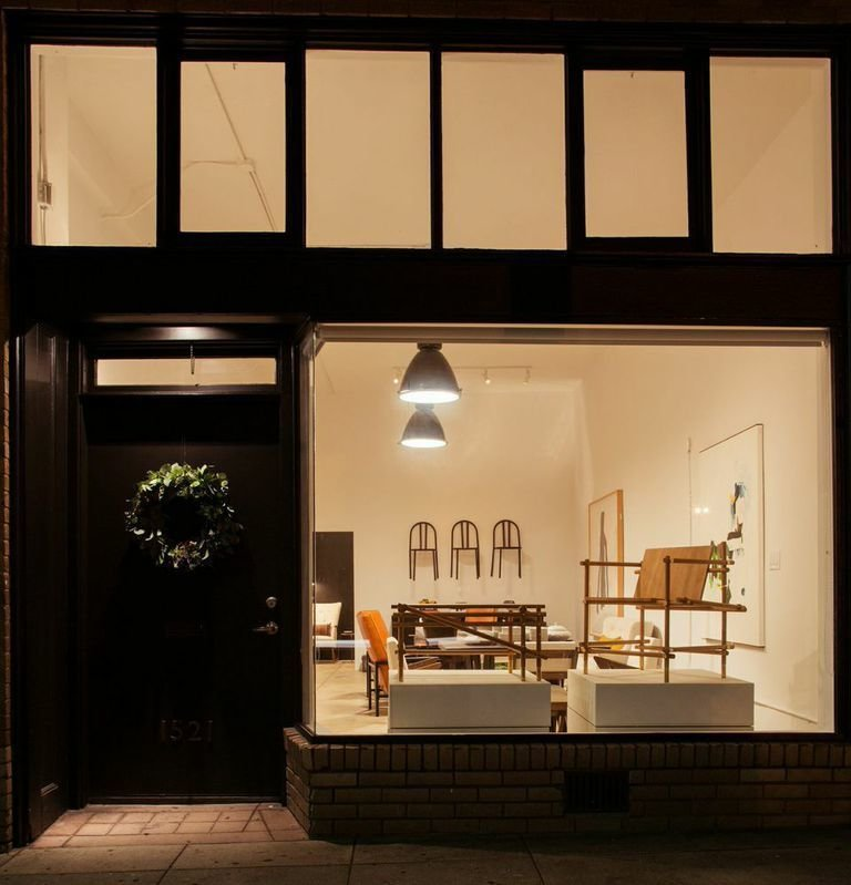 """The Outfit Home storefront in Hollywood.  Search """"modern home young hollywood"""" from A Los Angeles Store That Offers Modern Classics and Locally Made Goods"""