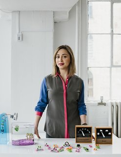Ayah Bdeir founded littleBits in 2011. The company produces a library of electronic modules that can be used to create all manner of devices, like a remote-controlled fish feeder and weather monitor.